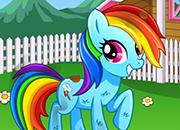 MLP Rainbow Dash Day Care juego