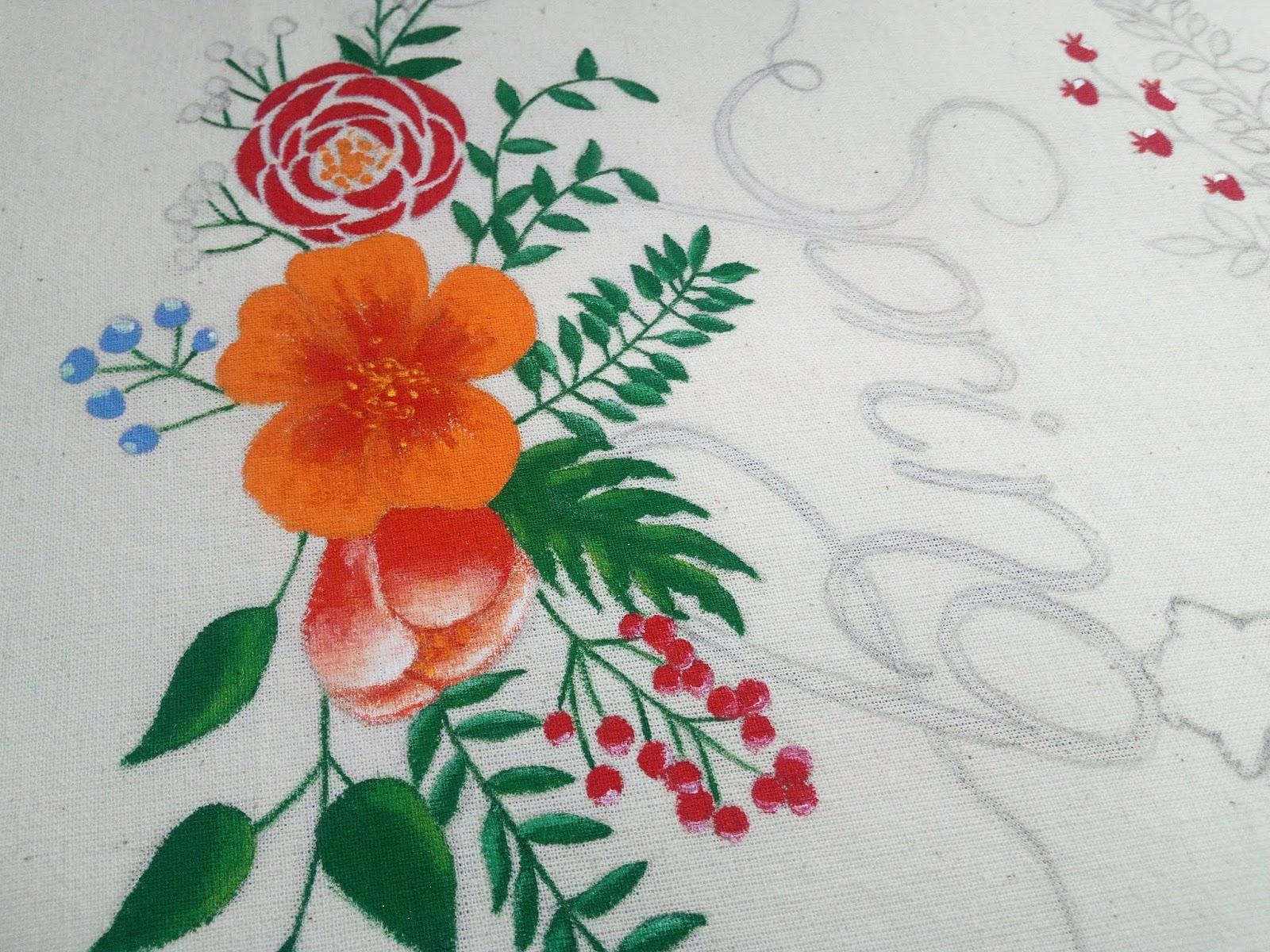 2c6288248f Tavaszi bevásárló táska #textilfestés   Ki van ez találva