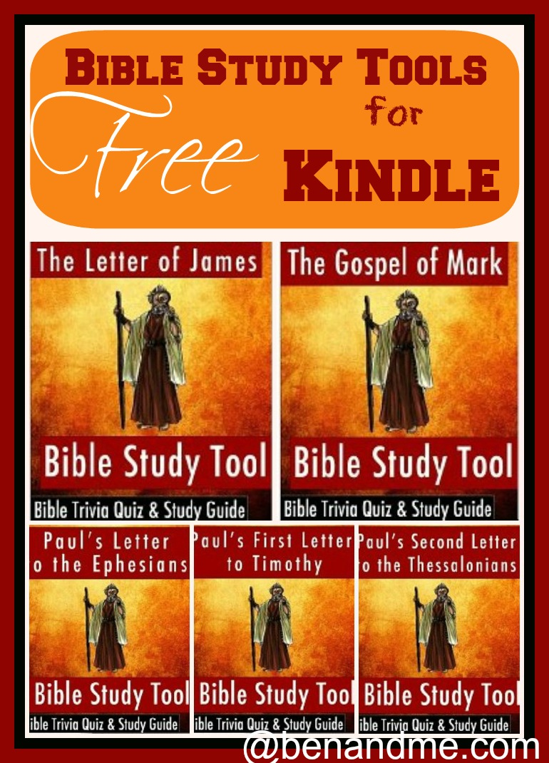 Free for Kindle - NT Bible Study Tools - Ben and Me