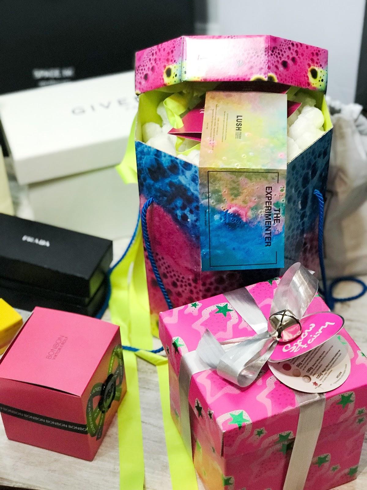 lush snow fairy gift set