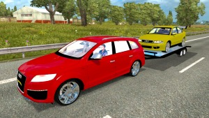 Audi Q7 car and trailer pack