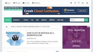 screenshot placing ads