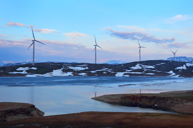 Wind turbines in Norway. Sustainability as a business opportunity.