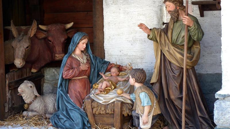 Birth of Jesus scene at every Christmas 2 HD