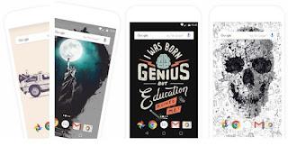 تطبيق, لتغيير, وتحميل, خلفيات, هواتف, وأجهزة, اندرويد, تلقائياً, Backdrops