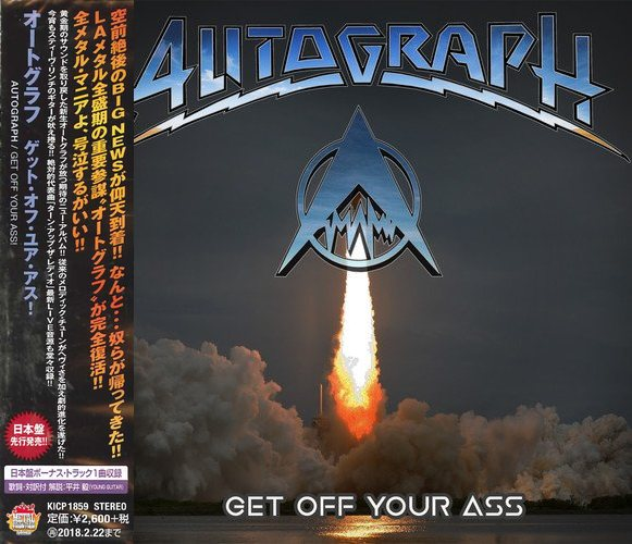 AUTOGRAPH - Get Off Your Ass [Japan Edition +1] (2017) full