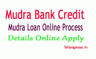 Mudra Bank Credit Scheme Details-Mudra Loan Online Process