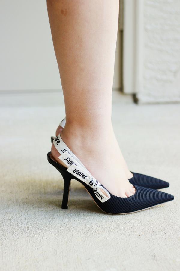 e20c5d34e0a Dream Shoes  Dior J Adior Slingback Pumps Review