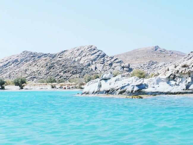 Παραλία Κολυμπήθρες Πάρος