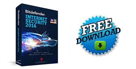 Δωρεάν Bitdefender Internet Security 2016