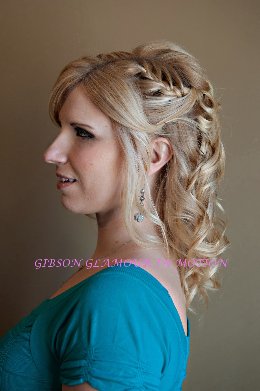 Gibson hair and makeup