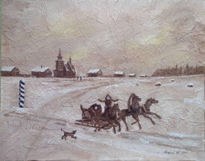 Пейзажи и натюрморты. Владимир Усянов