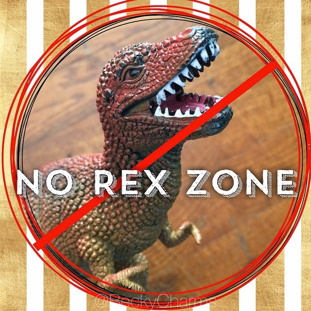 No Rex Zone, No Flex Zone by BeckyCharms 2014