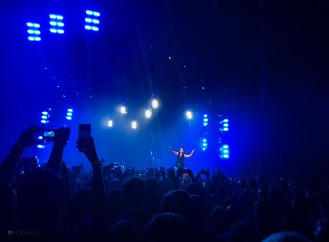 Концерт Depeche Mode в Санкт-Петербуге