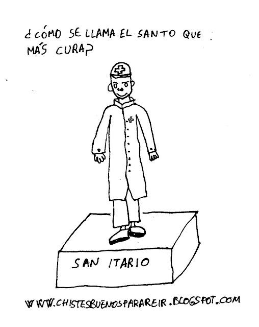 ¿Cómo se llama el santo que más cura? San Itario