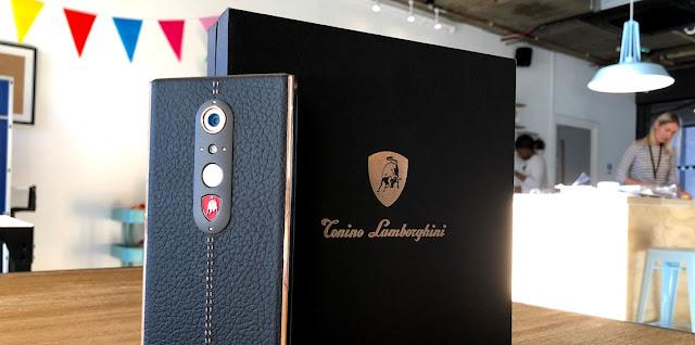 لامبورغيني تطرح هاتفها الفاخر بثمن 2500 دولار