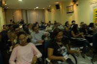 Palestrante Motivacional iniciando Palestra Motivacional com uma dinâmica em Bragança Paulista SP