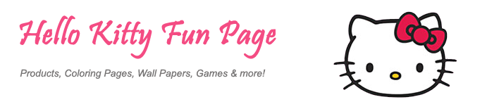 Hello Kitty Fun Page - Products, Coloring Pages, Wall Papers, Games & more!