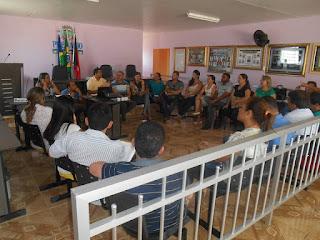 Projeto Cegonha reúne representes da Região na cidade de Sossego
