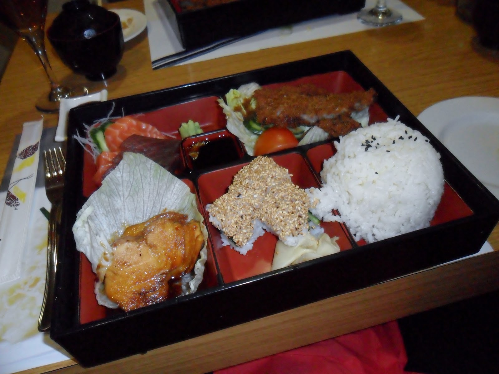 Tenkaichi Bento Box, Tenkaichi Sushi Bar, Cardiff