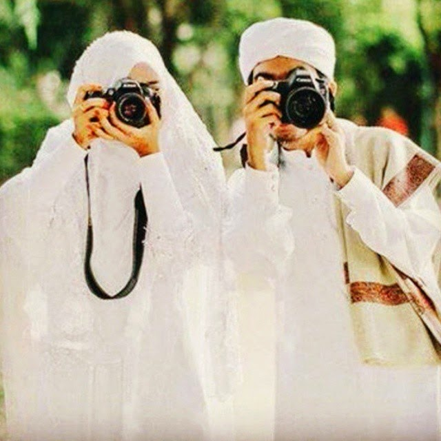 foto pernikahan muslim dan muslimah shalehah