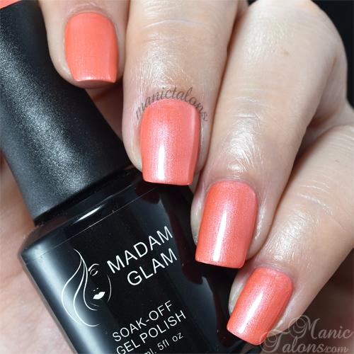 Madam Glam Gel Polish Carmine Pink