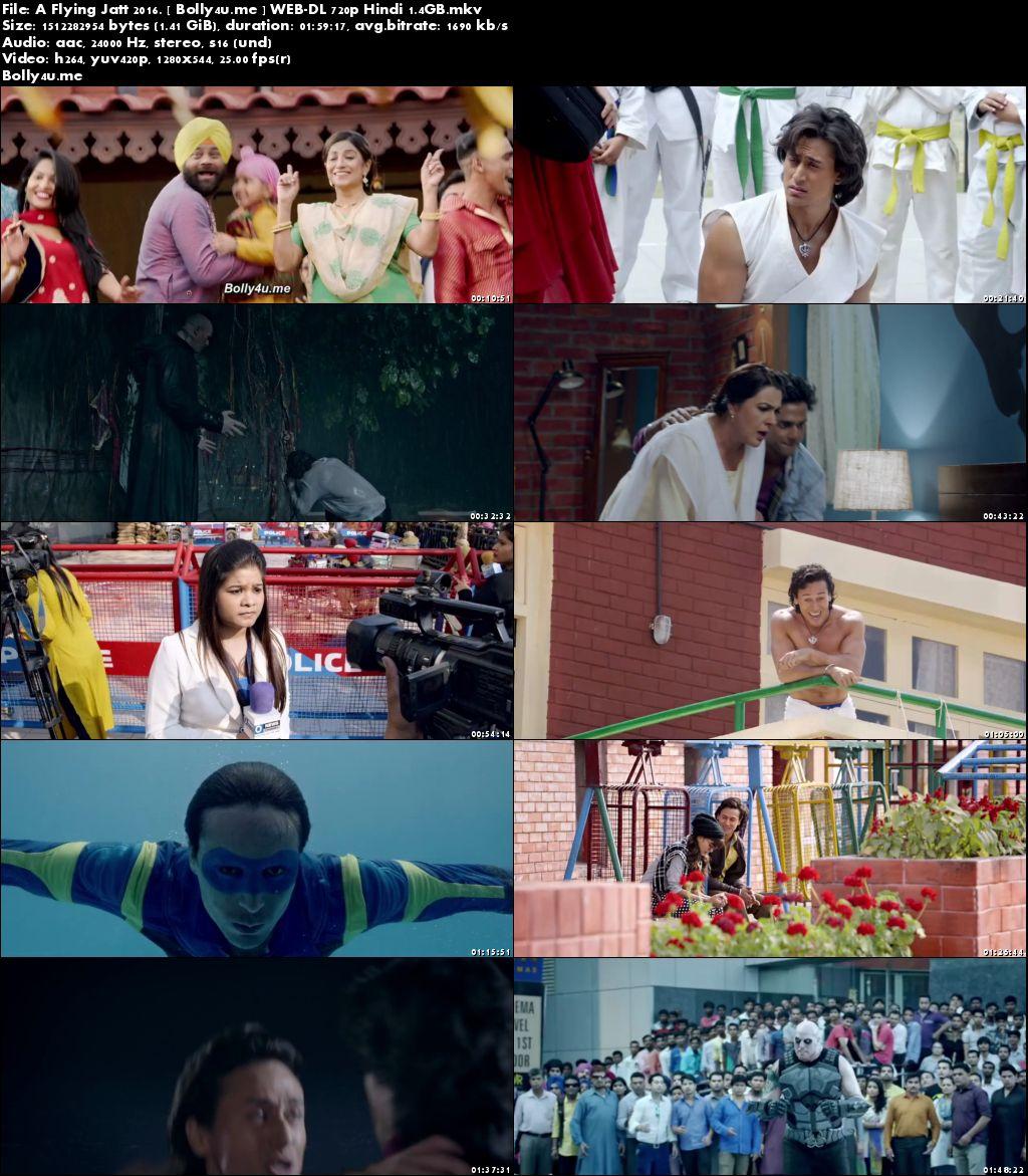 A Flying Jatt 2016 WEB-DL 350MB Full Hindi Movie Download 480p