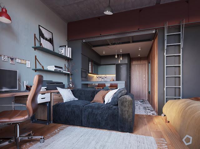 Blog Achados de Decoração, decoração de quitinete 29 m²