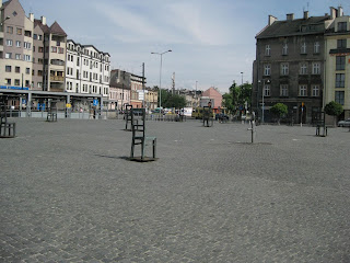 Ghetto Heroes Square in the Jewish Quarter