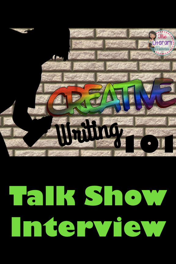 Interviews On Creative Living Interior: Creative Writing 101: Talk Show Interview