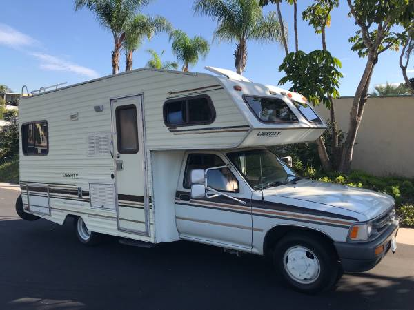 Used Rvs 1990 Toyota Liberty By Odyssey 20 Ft Rv For Sale