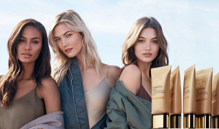 Estée Lauder Double Wear Makeup Campaign