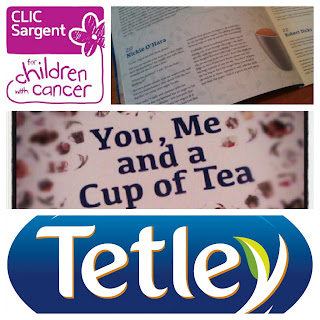 You Me and a Cup of Tea, Tetley, CLIC Sargent, cancer,