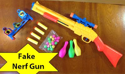 Fake Nerf Gun