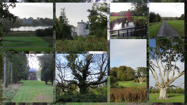 The grounds and golf course at Dromoland Castle near Limerick Ireland