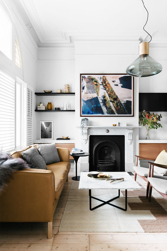 Contemporary home with scandinavian vibes. Design by Fiona Lynch. Styling by Marsha Golemac. Photos by Brooke Holm