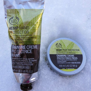 The Body Shop Hemp Hand Protector & Foot Protector