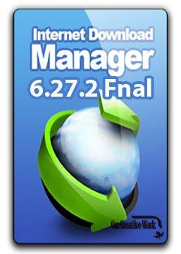 Internet Download Manager v 6.27.2 Free Download