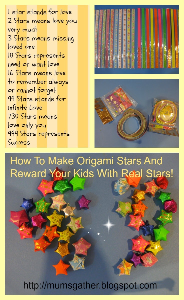 How To Make Origami Stars And Reward Your Kids With Real Stars