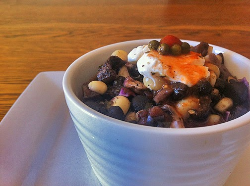 Zesty Black Bean Soup with Veggies