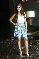 Yamini in Short Mini Skirt and Crop Sleeveless White Top 147.JPG