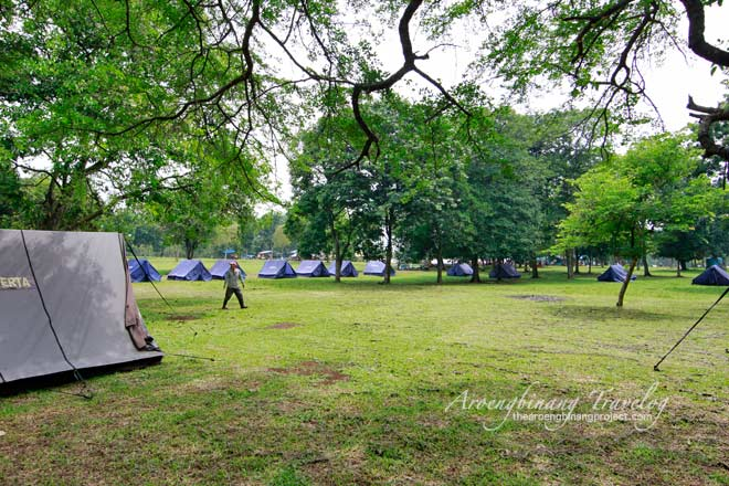 scout guesthouse and campground cibubur