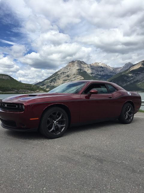 wine red 2016 Dodge Challenger