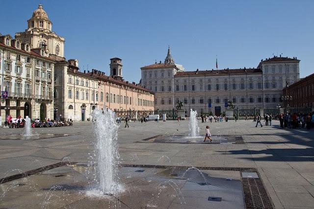 Piazza Castello em Turim