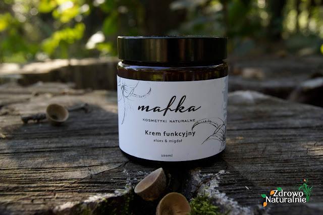 Mafka - Krem funkcyjny aloes & migdał