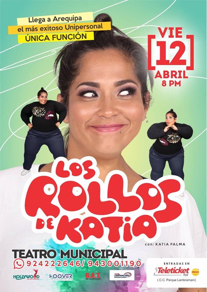Los Rollos de Katia, Teatro, 12 de abril