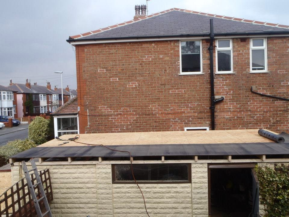 D Amp C Roofing New Flat Roof To Old Concrete Sectional
