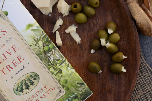 <b>Parmesan-stuffed Olives</b> <i>inspired by</i> <b>The Roots of the Olive Tree</b> <i>{book tour}</i>