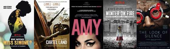 Melhor Documentário - Oscar 2016