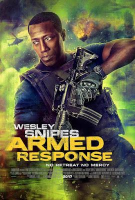 Armed Response 2017 DVD R1 NTSC Spanish